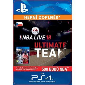 NBA Live 18 Ultimate Team - 500 NBA points - PS4 CZ Digital (SCEE-XX-S0034183)