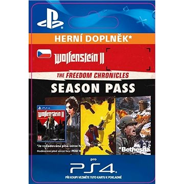 Wolfenstein II: The Freedom Chronicles - Season Pass - PS4 CZ Digital (SCEE-XX-S0034630)