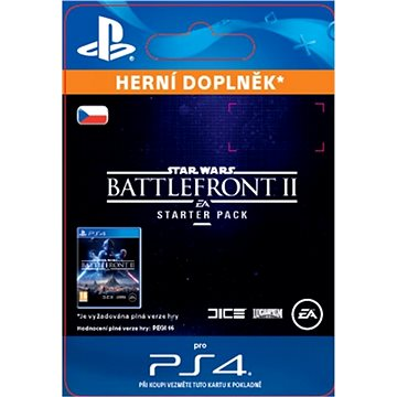 STAR WARS Battlefront II Starter Pack - PS4 CZ Digital (SCEE-XX-S0034834)