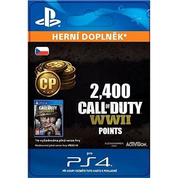 2,400 Call of Duty: WWII Points - PS4 CZ Digital (SCEE-XX-S0035252)