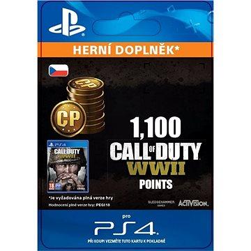 1,100 Call of Duty: WWII Points - PS4 CZ Digital (SCEE-XX-S0035295)
