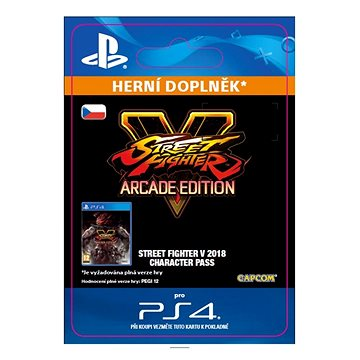 STREET FIGHTER V Season 3 Character Pass - PS4 CZ Digital (SCEE-XX-S0036091)