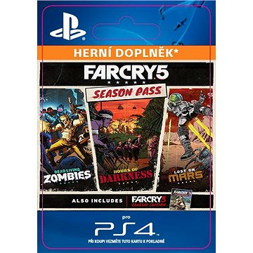 Far Cry 5 Season Pass - PS4 CZ Digital (SCEE-XX-S0037075)