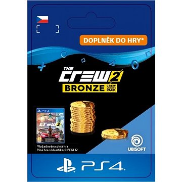 The Crew 2 Bronze Crew Credits Pack - PS4 CZ Digital (SCEE-XX-S0038555)