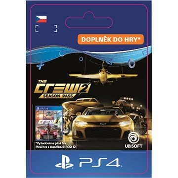 THE CREW 2 - Season Pass - PS4 CZ Digital (SCEE-XX-S0038627)