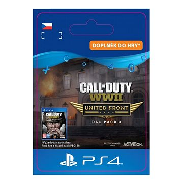 Call of Duty: WWII - The United - PS4 CZ Digital (SCEE-XX-S0038705)