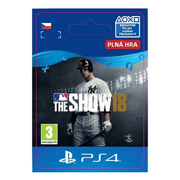MLB The Show 18 - PS4 CZ Digital (SCEE-XX-S0037460)