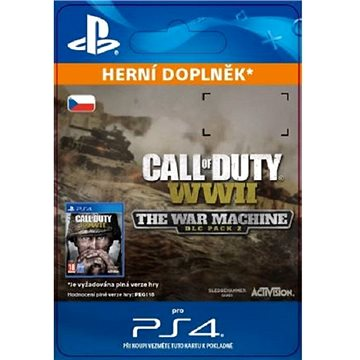 Call of Duty: WWII - The War Machine - PS4 CZ Digital (SCEE-XX-S0037532)