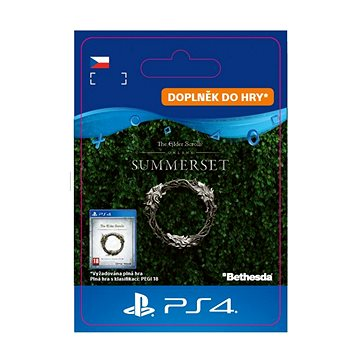 The Elder Scrolls Online: Summerset Upgrade - PS4 CZ Digital (SCEE-XX-S0038235)