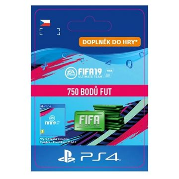 750 FIFA 19 Points Pack - PS4 CZ Digital (SCEE-XX-S0040105)