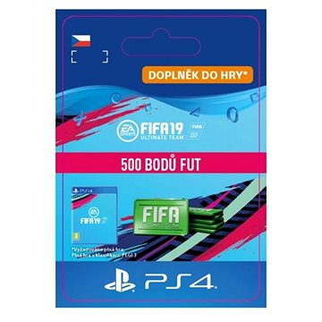 500 FIFA 19 Points Pack - PS4 CZ Digital (SCEE-XX-S0040119)