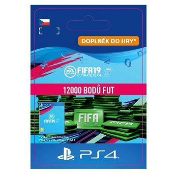 12000 FIFA 19 Points Pack - PS4 CZ Digital (SCEE-XX-S0040159)