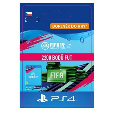 2200 FIFA 19 Points Pack - PS4 CZ Digital (SCEE-XX-S0040228)