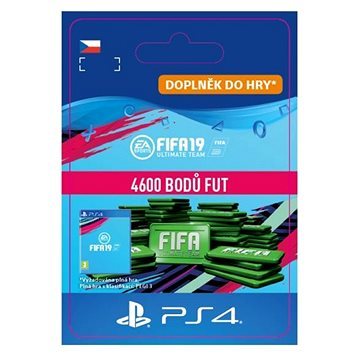4600 FIFA 19 Points Pack - PS4 CZ Digital (SCEE-XX-S0040304)