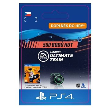 500 NHL 19 Points Pack - PS4 CZ Digital (SCEE-XX-S0039712)