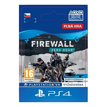 Firewall Zero Hour - PS4 CZ Digital (SCEE-XX-S0039613)
