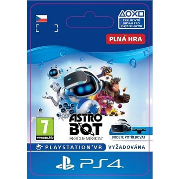 ASTRO BOT Rescue Mission - PS4 CZ Digital (SCEE-XX-S0040705)
