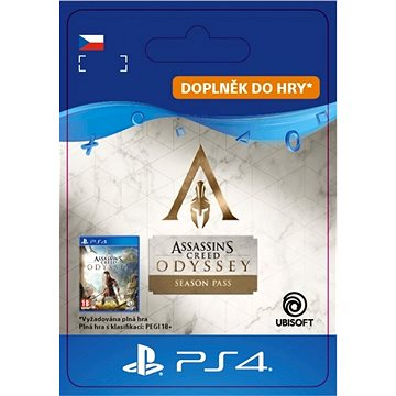 Assassin's Creed Odyssey Season Pass - PS4 CZ Digital (SCEE-XX-S0040849)