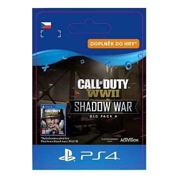 COD: WWII Shadow War: DLC Pack4 - PS4 CZ Digital (SCEE-XX-S0041107)