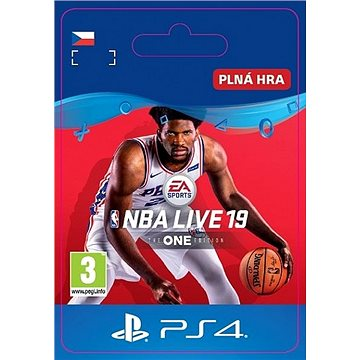 NBA LIVE 19: THE ONE EDITION - PS4 CZ Digital (SCEE-XX-S0041166)