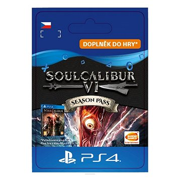 SOULCALIBUR VI Season Pass - PS4 CZ Digital (SCEE-XX-S0041226)