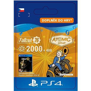 Fallout 76: 2000 (+400 Bonus) Atoms - PS4 CZ Digital (SCEE-XX-S0041811)