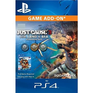Just Cause 4 - Expansion Pass - PS4 CZ Digital (SCEE-XX-S0042375)