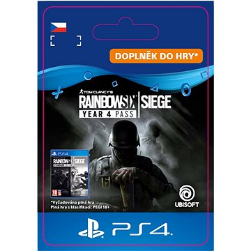 Tom Clancys Rainbow Six Siege - Year 4 Pass - PS4 CZ Digital (SCEE-XX-S0042517)