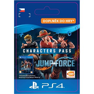 Jump Force - Characters Pass - PS4 CZ Digital (SCEE-XX-S0043365)