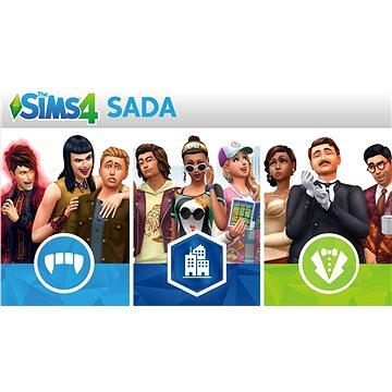 The Sims 4: Bundle (Život ve městě, Upíři a Staré časy) - PS4 CZ Digital (SCEE-XX-S0035434)