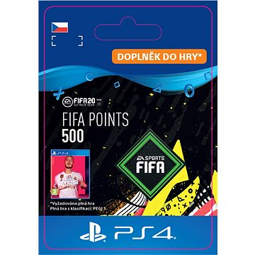 FIFA 20 ULTIMATE TEAM™ 500 POINTS - PS4 CZ Digital (SCEE-XX-S0045593)