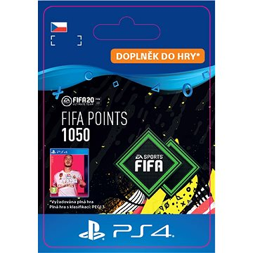 FIFA 20 ULTIMATE TEAM™ 1050 POINTS - PS4 CZ Digital (SCEE-XX-S0045697)