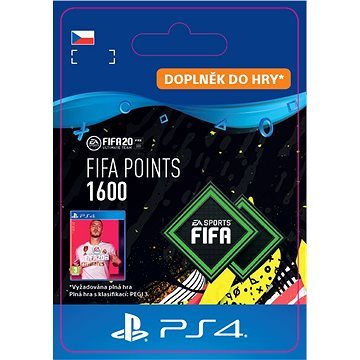 FIFA 20 ULTIMATE TEAM™ 1600 POINTS - PS4 CZ Digital (SCEE-XX-S0045785)