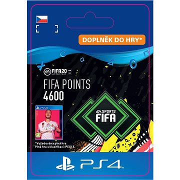FIFA 20 ULTIMATE TEAM™ 4600 POINTS - PS4 CZ Digital (SCEE-XX-S0045524)