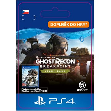 Ghost Recon Breakpoint: Year 1 Pass - PS4 CZ Digital (SCEE-XX-S0046589)