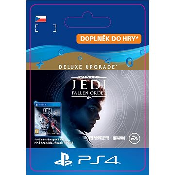 STAR WARS Jedi: Fallen Order Deluxe Upgrade - PS4 CZ Digital (SCEE-XX-S0047445)