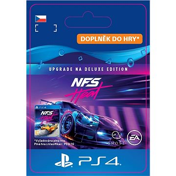Need for Speed Heat Deluxe Edition Upgrade - PS4 CZ Digital (SCEE-XX-S0047469)