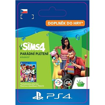 The Sims 4: Nifty Knitting Stuff Pack - PS4 CZ Digital (SCEE-XX-S0050215)