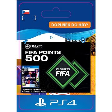 FIFA 21 ULTIMATE TEAM 500 POINTS - PS4 CZ Digital (SCEE-XX-S0049861)