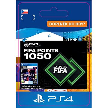 FIFA 21 ULTIMATE TEAM 1050 POINTS - PS4 CZ Digital (SCEE-XX-S0049750)
