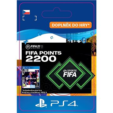 FIFA 21 ULTIMATE TEAM 2200 POINTS - PS4 CZ Digital (SCEE-XX-S0049984)