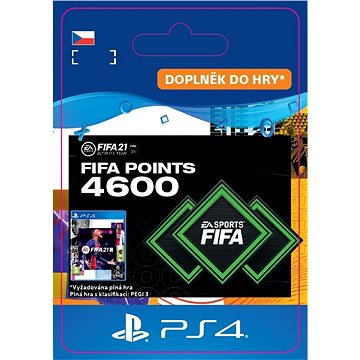 FIFA 21 ULTIMATE TEAM 4600 POINTS - PS4 CZ Digital (SCEE-XX-S0049952)