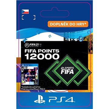 FIFA 21 ULTIMATE TEAM 12000 POINTS - PS4 CZ Digital (SCEE-XX-S0049693)