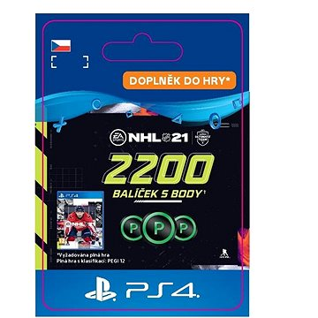 NHL 21: Ultimate Team 2200 Points - PS4 CZ Digital (SCEE-XX-S0050912)
