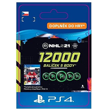 NHL 21: Ultimate Team 12000 Points - PS4 CZ Digital (SCEE-XX-S0050862)