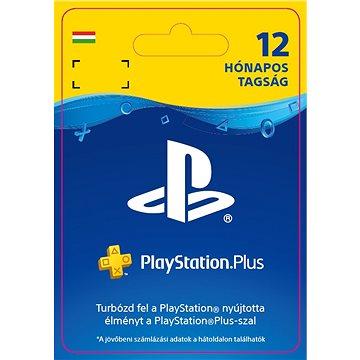 PlayStation Plus 12 měsíční členství - PS4 HU Digital (9212-20122)
