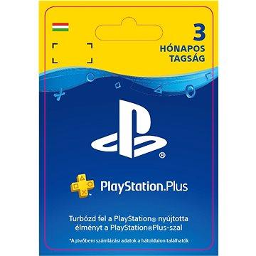 PlayStation Plus 3 měsíční členství - HU Digital (SCEE-XX-S0029257)
