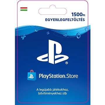 PlayStation Store - Kredit 1500Ft - PS4 HU Digital (SCEE-HU-00150000)