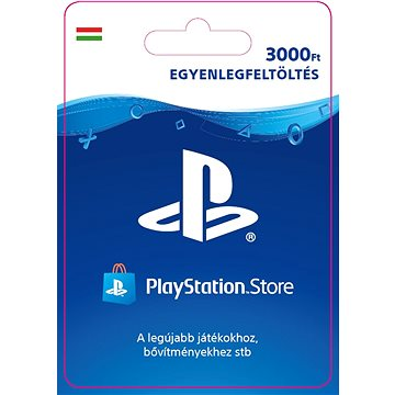 PlayStation Store - Kredit 3000Ft - HU Digital (SCEE-HU-00300000)