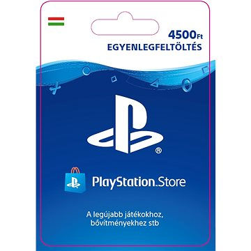 PlayStation Store - Kredit 4500Ft - HU Digital (SCEE-HU-00450000)